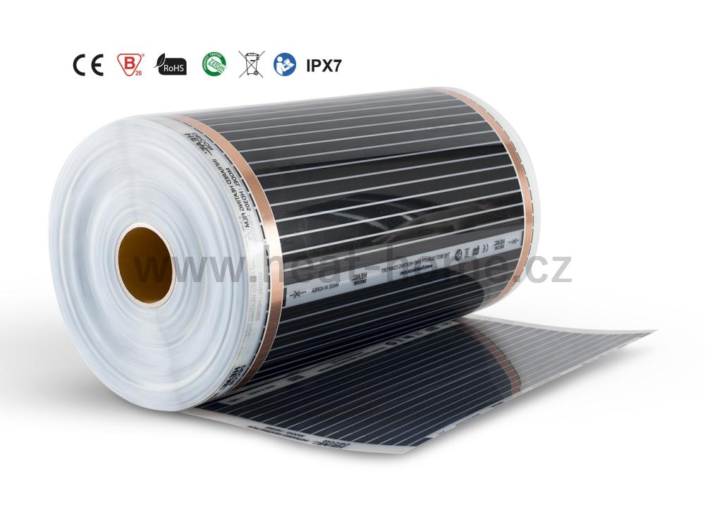 HD 305, 110 W/bm (220 W/m2) – Infračervená topná fólie HEAT DECOR na metry